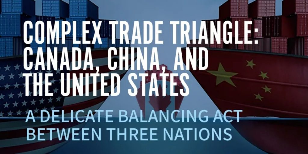 Complex Trade Triangle: Canada, China, and The United States