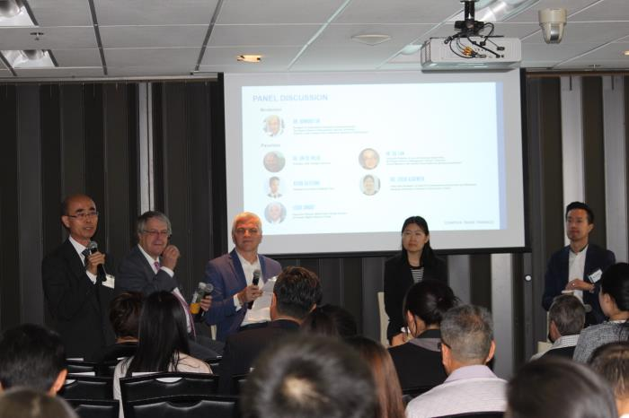 Experts provide insights on the complex trade triangle of Canada, China and the United States at Ryerson University's Ted Rogers School of Management on June 1 in Toronto. NA LI / CHINA DAILY