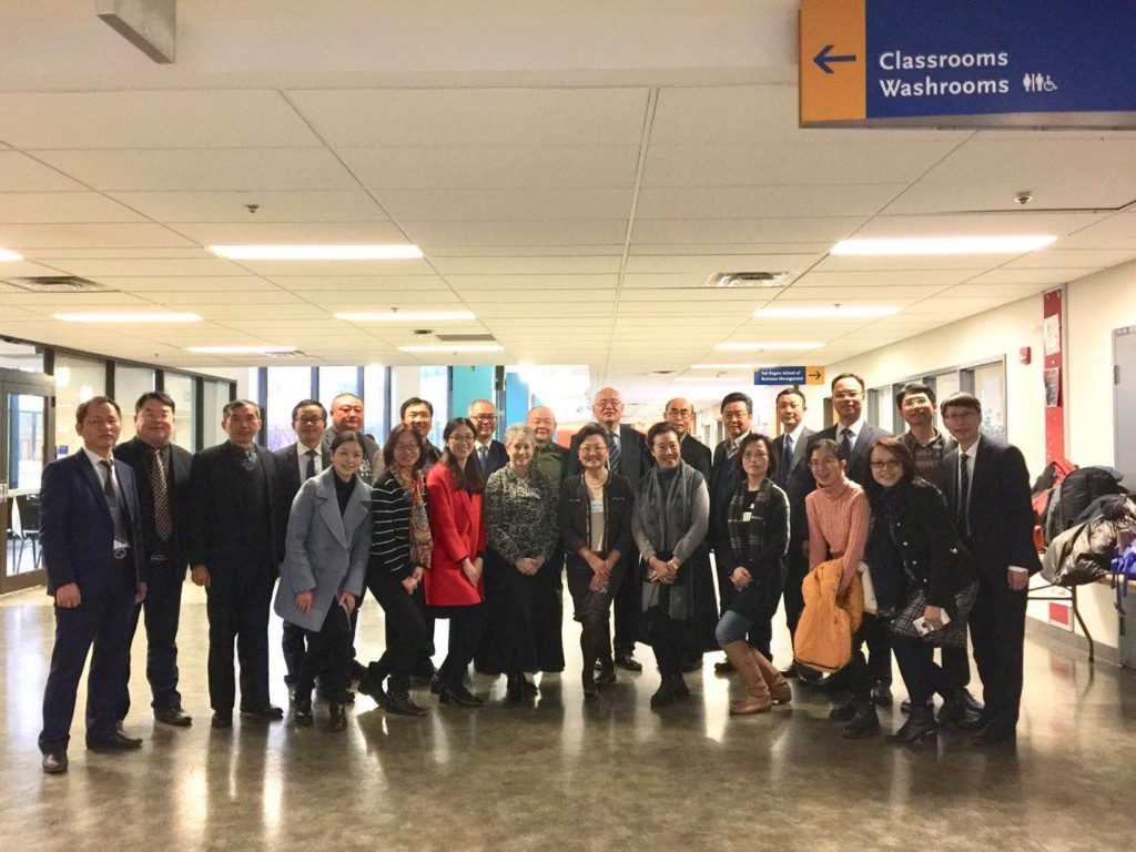 Top Chinese University Delegation Visits TRSM Faculty from CCIBD